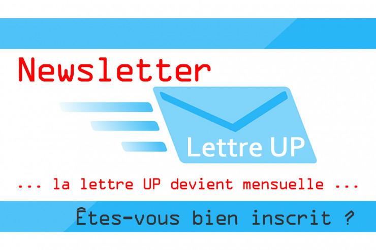 Êtes vous bien inscrit à nos Newsletter ?